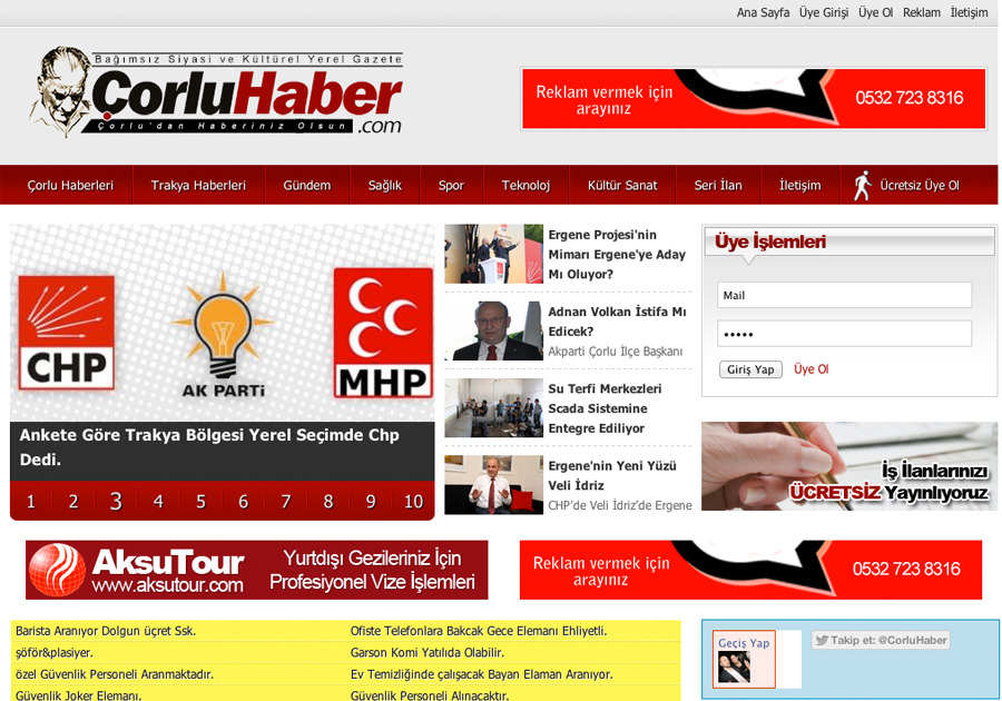 A great web design by RenkliKalem, Tekirdag, Turkey: