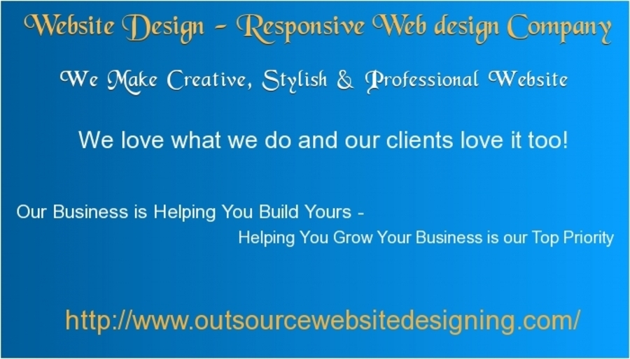 A great web design by Outsource Website Designing, New York, NY: