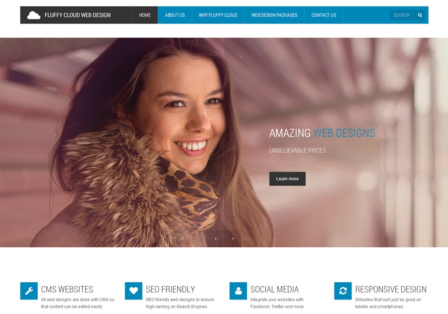 A great web design by Fluffy Cloud Web Design, Singapore, Singapore:
