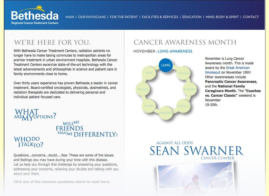 A great web design by Wellspring Advertising, Atlanta, GA: