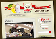 A great web design by AH Grafix, LLC, Fargo, MN: Responsive Website, Marketing Website , Food & Beverage , Wordpress