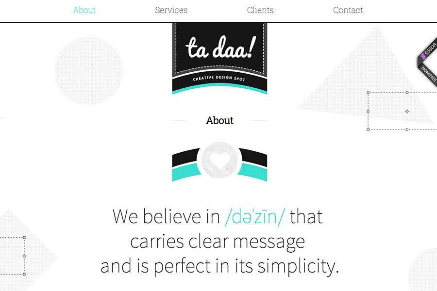 A great web design by ta daa!, Gliwice, Poland: