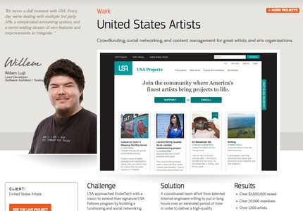 A great web design by Endertech, Los Angeles, CA: Website, Social/Community , Non Profit , PHP