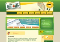 A great web design by Auto Tag Agency, Fort Lauderdale, FL:
