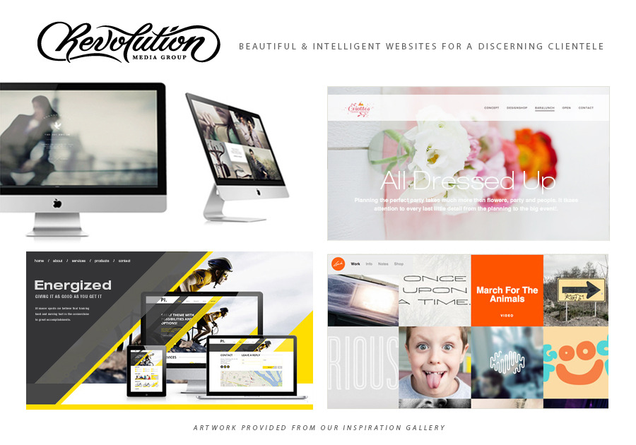 A great web design by Revolution Media Group, San Francisco, CA: Responsive Website, Portfolio , Wordpress