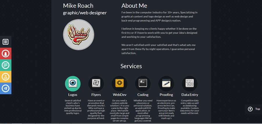 A great web design by Wicked Web Works, Mansfield, OH: