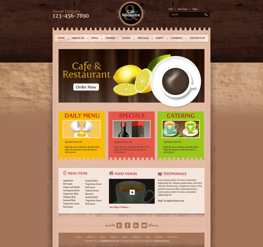 A great web design by SwipeClick, Glasgow, United Kingdom: