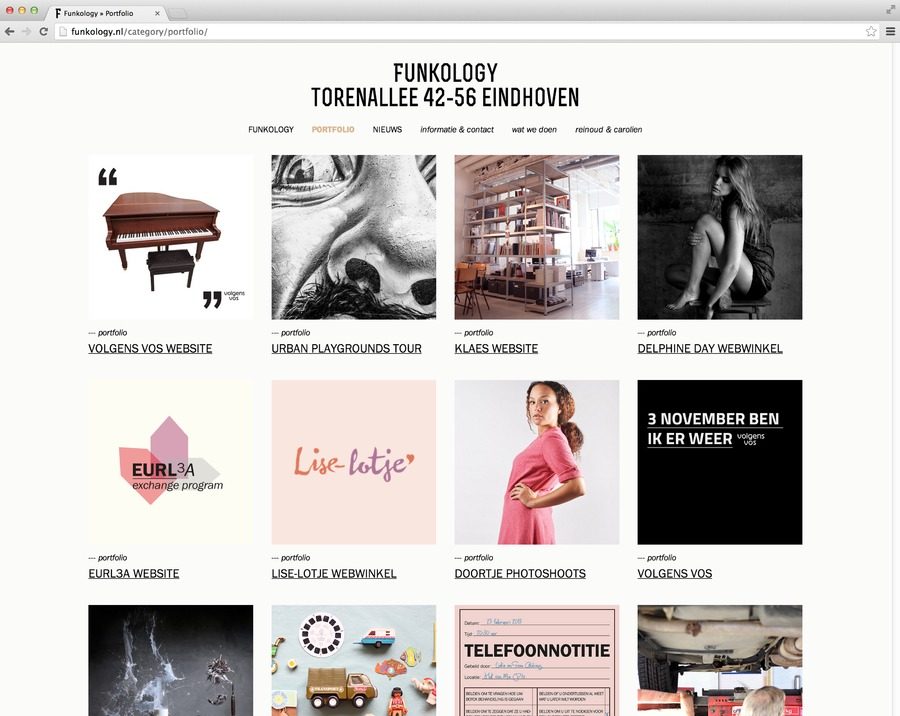 A great web design by Funkology, Eindhoven, Netherlands: Responsive Website, Portfolio , Other, Wordpress