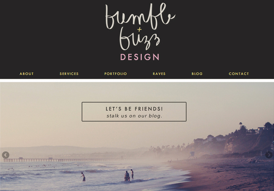 A great web design by Bumble + Buzz Design, Los Angeles, CA: Responsive Website, Marketing Website