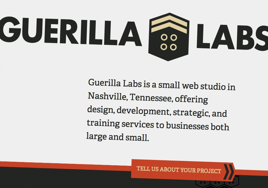 A great web design by Guerilla Labs, Nashville, TN: Responsive Website, Marketing Website , Technology , Other