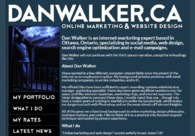 A great web design by Dan Walker, Ottawa Ontario, Canada: Website, Marketing Website , Technology , Wordpress
