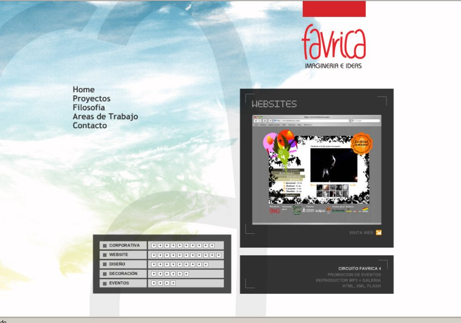 A great web design by Favrica Imaginería e Ideas, Ibiza, Spain: