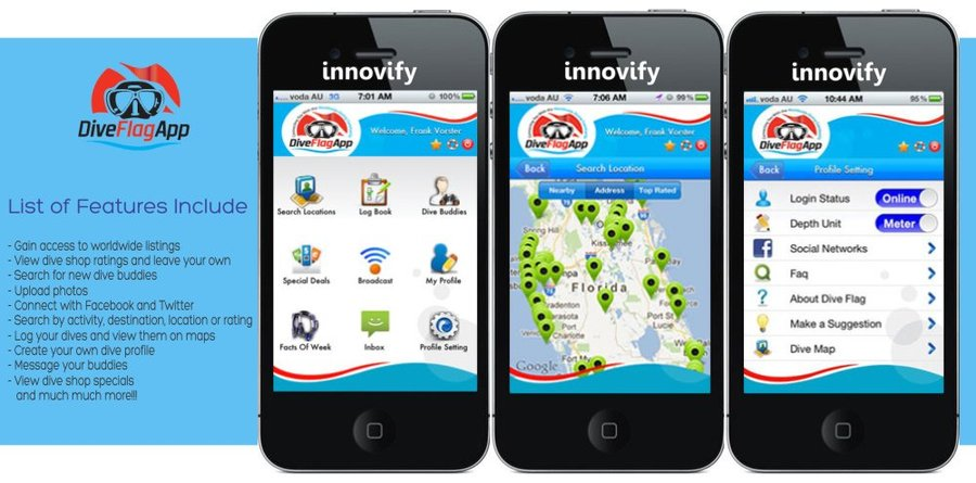 A great web design by Innovify, Ahmedabad, India: Mobile App , Social/Community , Sports & Fitness , Android (Java)