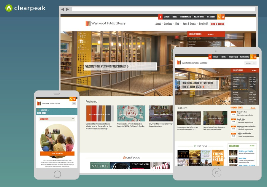 A great web design by Clearpeak, Boston, MA: Responsive Website, Social/Community , Non Profit , ExpressionEngine