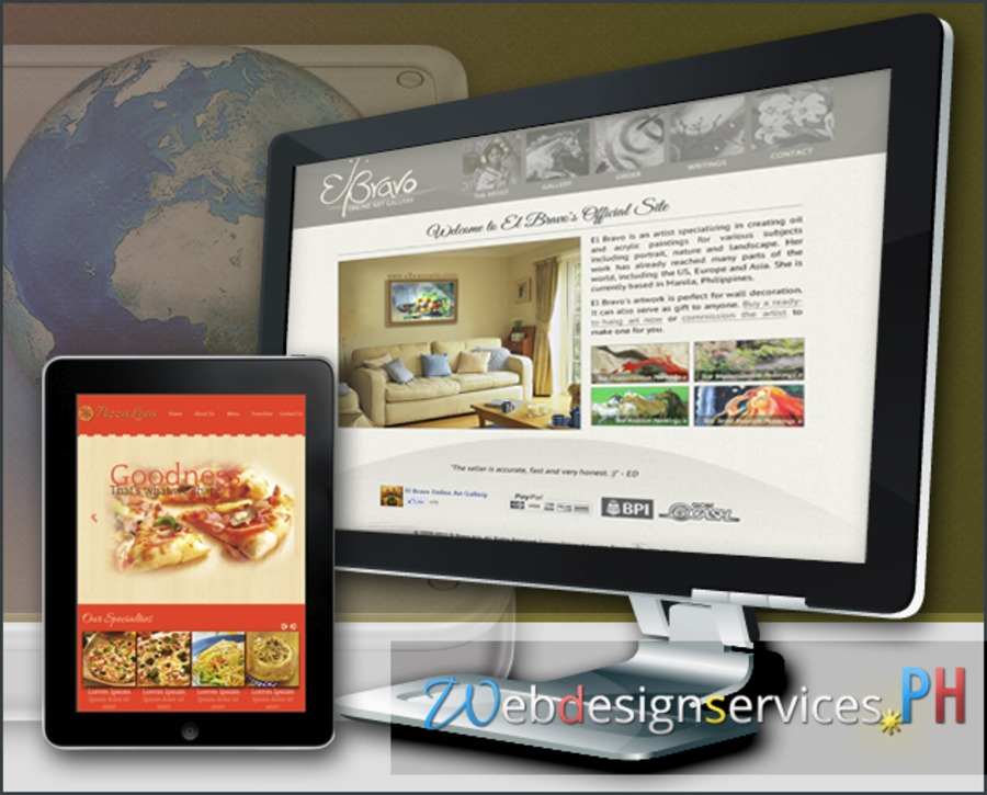 A great web design by Webdesignservices.PH, Manila, Philippines: Responsive Website, E-Commerce , Entertainment , PHP