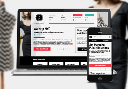 A great web design by New Haircut , New York, NY: Responsive Website, Web Application , Fashion , PHP