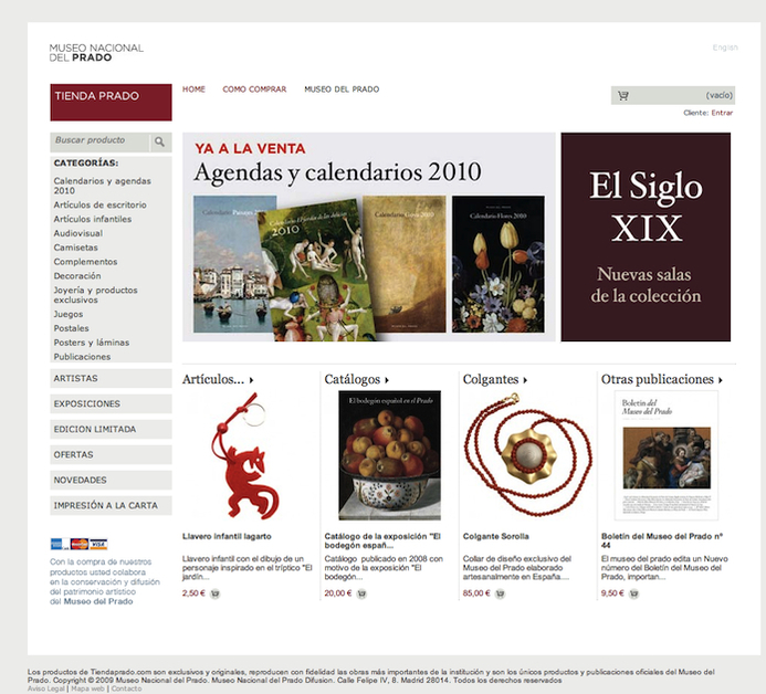 A great web design by Color Vivo Internet, S.L., Madrid, Spain: