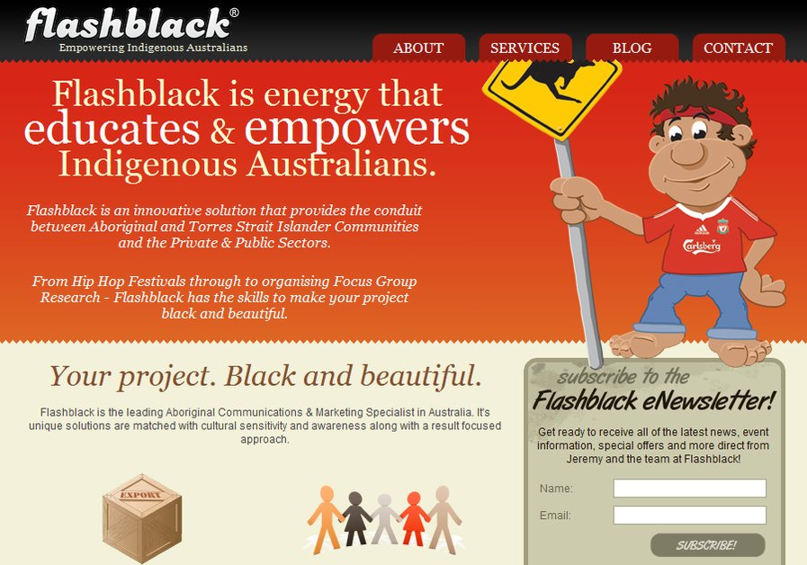 A great web design by Bergan Blue, Sydney, Australia: