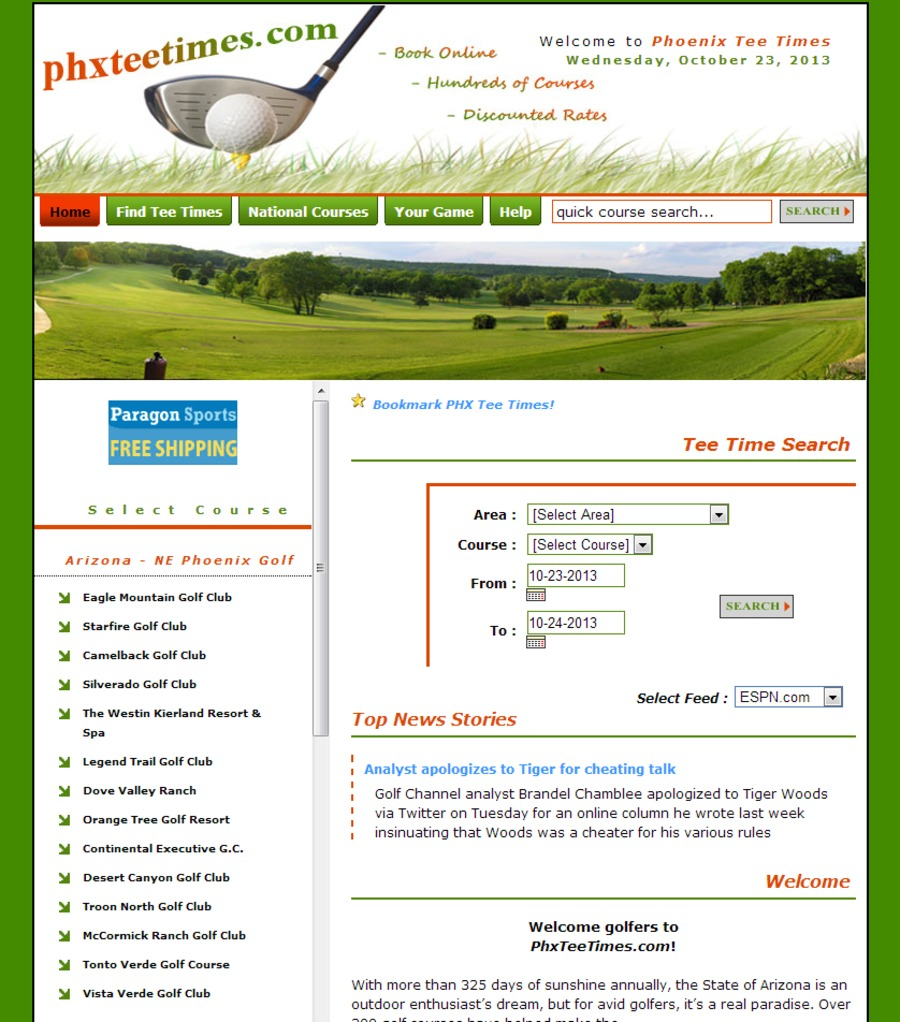 A great web design by Click Now Marketing, Chandler, AZ: