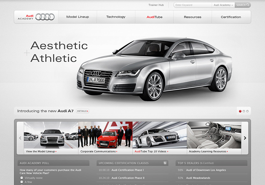 A great web design by Gabe Abadilla, San Diego, CA: Responsive Website, Social/Community , Automotive , Static HTML