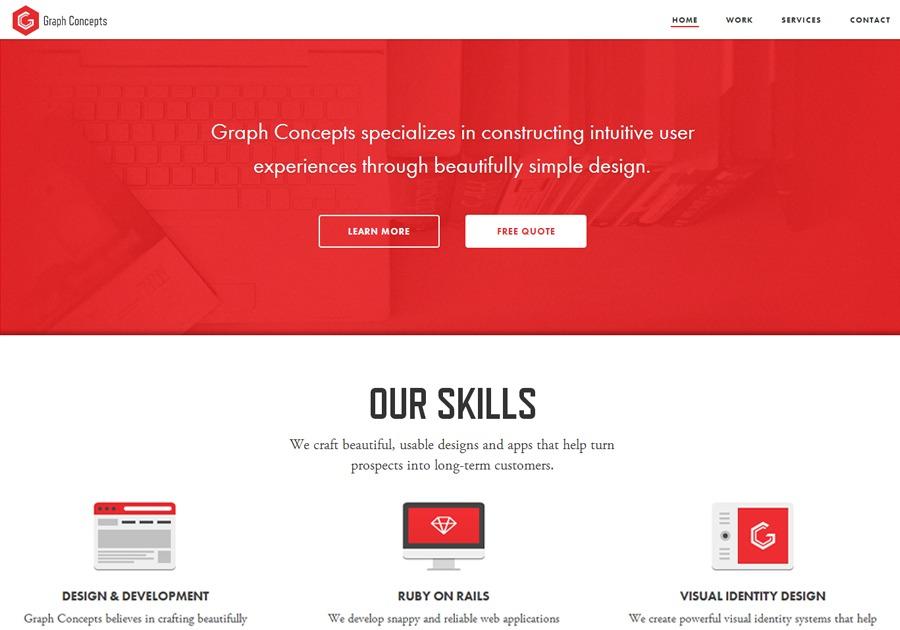 A great web design by Graph Concepts, San Francisco, CA: