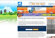A great web design by SkyRange Internet | HughesNet Gen4: