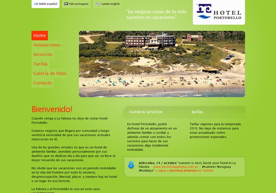 A great web design by emedia, Montevideo, Uruguay: