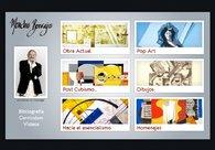 A great web design by Jorge Vázquez , Vigo, Spain: