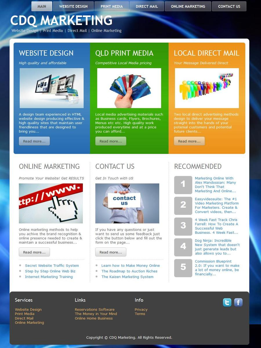 A great web design by We Buildit 4U, Brisbane, Australia: