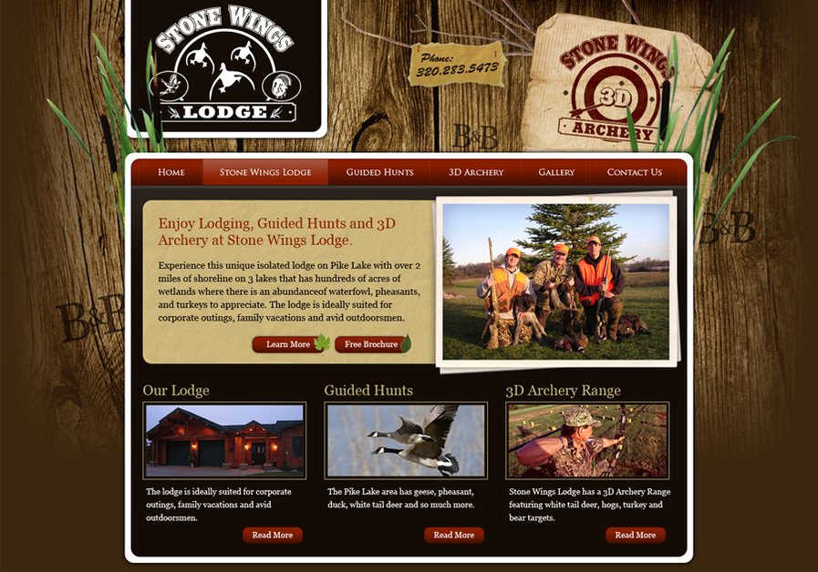 A great web design by Jeff Wagner Interactive, Minneapolis, MN: