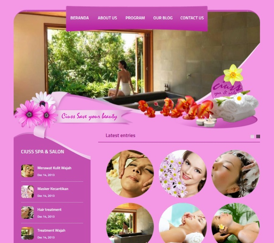 A great web design by Ciuss Web Design, Jakarta, Indonesia: