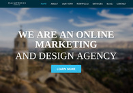 A great web design by Raincross, Riverside, CA: