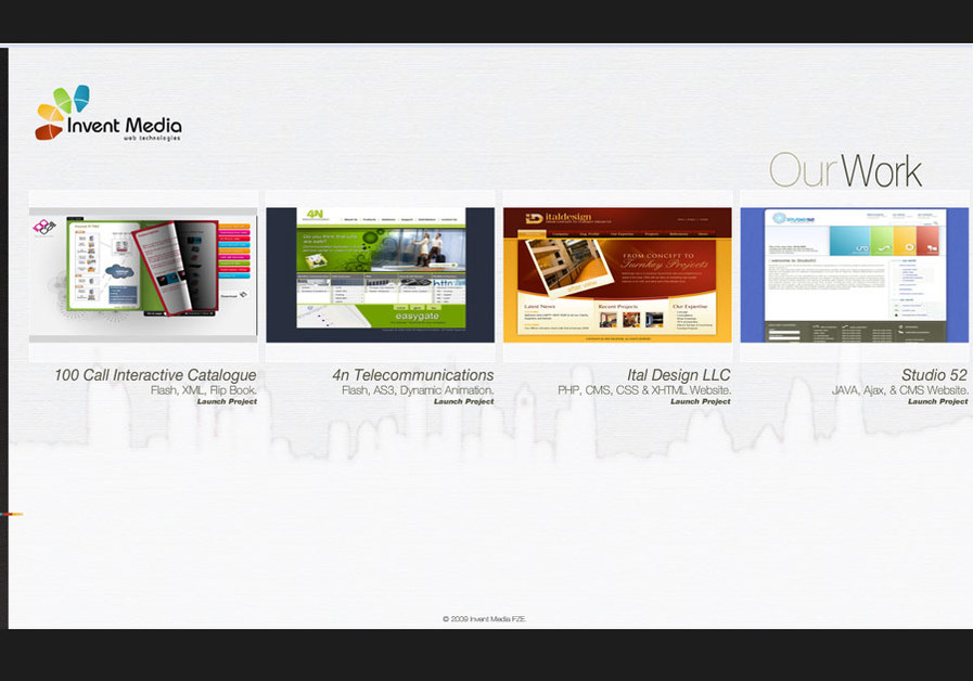 A great web design by Invent Media FZE, Dubai, United Arab Emirates: