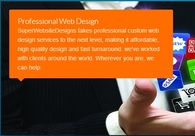 A great web design by SuperWebsiteDesigns.com, New York, NY: