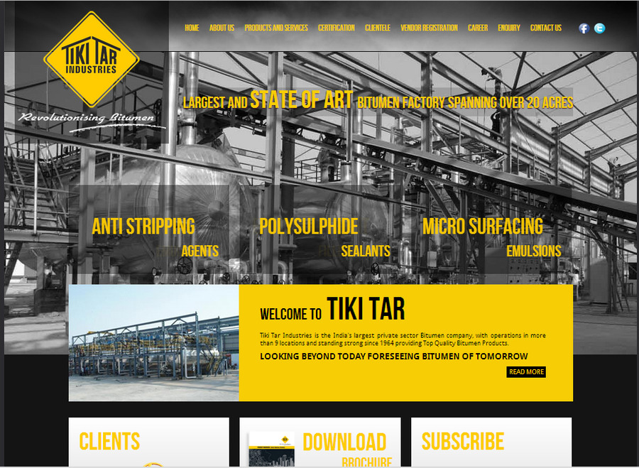 A great web design by Tiki Tech, Mumbai, India:
