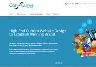 A great web design by CanCurve Solutions, Toronto, Canada: