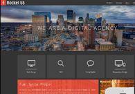 A great web design by Rocket 55, Minneapolis, MN: Marketing Website , Marketing