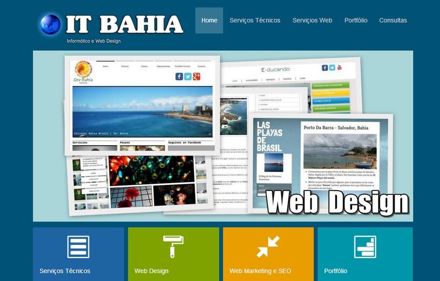 A great web design by IT BAHIA, Bahia e Sao Paulo, Brazil: