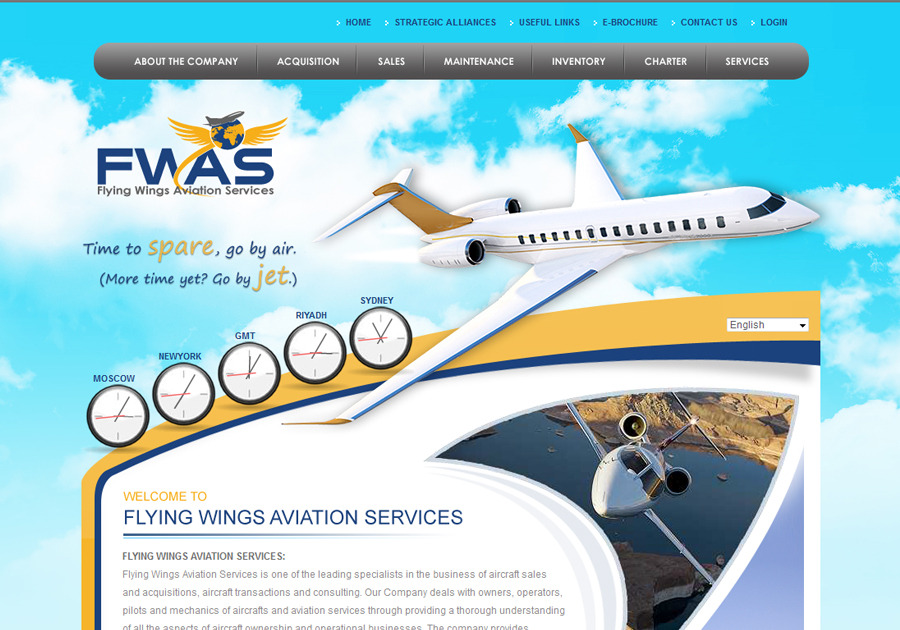 A great web design by BestKreative, Karachi, Pakistan: Website, Web Application , Aerospace , ASP.NET