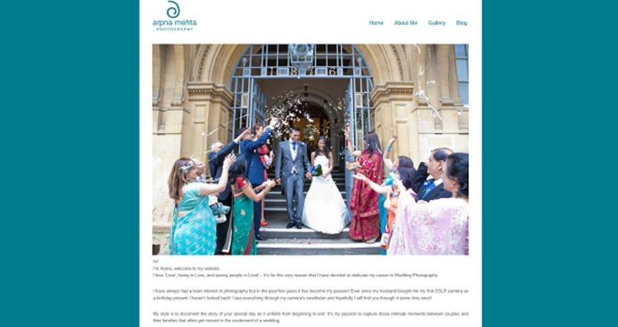 A great web design by Mays Web Design, Chichester, United Kingdom: