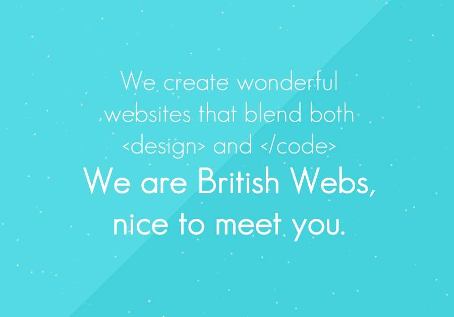 A great web design by British Webs, Colchester, United Kingdom: