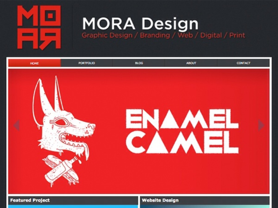 A great web design by MORA Design, London, United Kingdom: