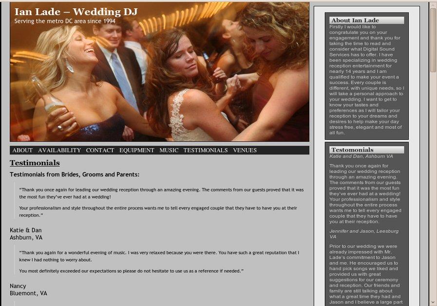 A great web design by C.O.D. Communications, Washington DC, DC: