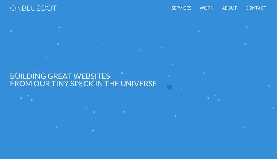 A great web design by onBlueDot, Toronto, Canada: Responsive Website, Marketing Website , Internet , Static HTML