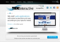 A great web design by Tide Interactive: Website, Portfolio , Technology , Wordpress