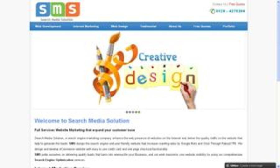 A great web design by Search Media Solution, Los Angeles, CA:
