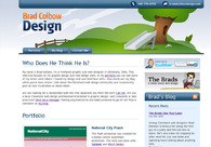 A great web design by Colbow Design, Cleveland, OH: