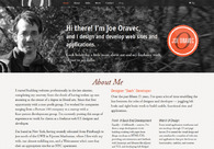 A great web design by Joe Oravec , New York, NY: