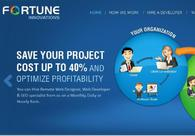 A great web design by Fortune Innovations Glasgow, Glasgow, United Kingdom: