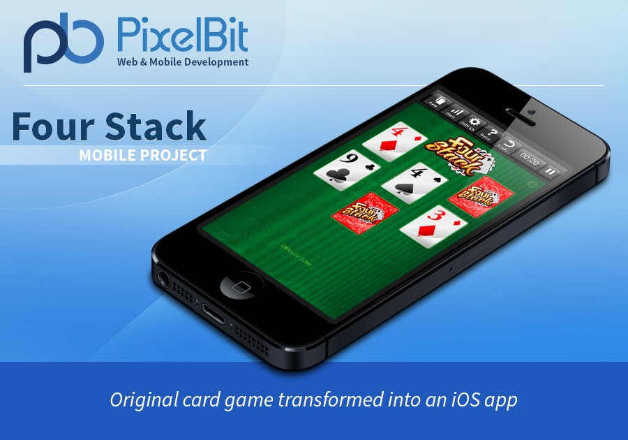 A great web design by PixelBit, Boston, MA: Mobile App , Game , Entertainment , iOS (Objective-C)